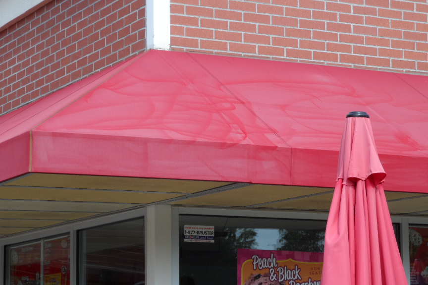 Avoid damage to your awnings and skip the power washer.