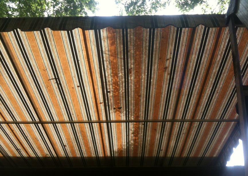 Regular awning cleanings can make a big difference.